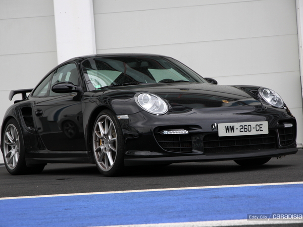Photos du jour : Porsche Carrera 911 997 GT2 (Tinseau Test Day)