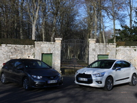 Citroën DS4 vs Honda Civic : apprentis premium
