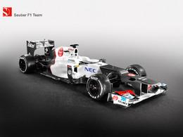 F1 : voici la Sauber C31, cousine de F2012