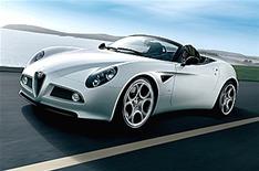 Alfa Romeo veut une 2eme génération de 8C sur base Ferrari California
