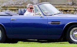 L'Aston du Prince Charles roule au vin blanc !