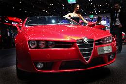 Live Mondial de Paris 2008 : Alfa Romeo Brera Ti, la belle oiseuse