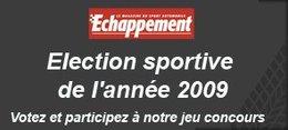 Election de la Sportive de l'année 2009: les 10 finalistes