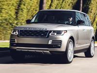 Le Land Rover Range Rover électrique dans les starting-blocks