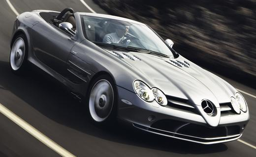 "McLaren Mercedes SLR : vers une version ""bouquet final"" ?"