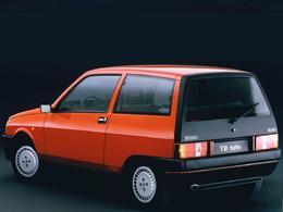 La p'tite sportive du lundi: Autobianchi Y10 Turbo.
