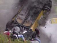 Italie : les spectateurs d'un rallye échappent de peu au crash