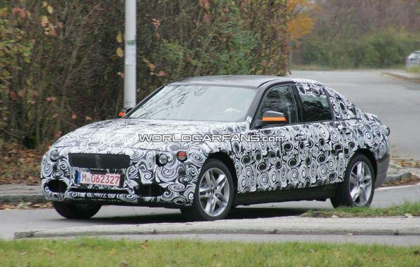 Spyshot : la prochaine BMW Serie 3 reprend la route