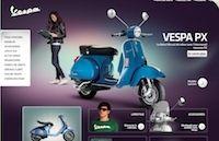 Vespa France : cure de jouvence pour le site internet de la marque