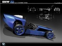BMW Z0 Concept: bleu écolo & 450 kg
