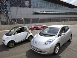 Conduisez une voiture électrique sur le circuit de Silverstone
