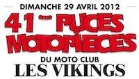 41ème Puces du Moto Club Les Vikings : rendez-vous le 29 avril à Elbeuf !
