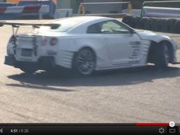 Drift : la Nissan GT-R BenSopra/Blitz apprend à danser