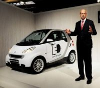 Tesla va fournir ses batteries et ses chargeurs à la Smart Fortwo ED
