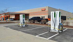 Etats-Unis : les bornes de recharge Volkswagen avec des batteries Tesla