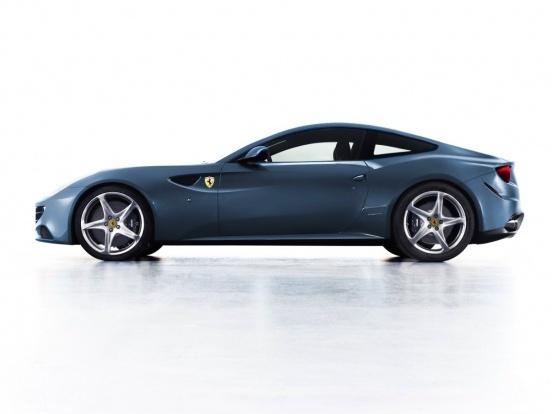 Nouvelle Ferrari FF: maintenant en coupé