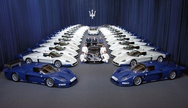 Maserati : une descendante pour la MC12 ?