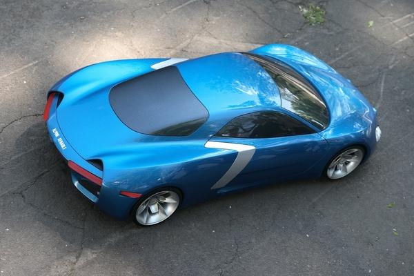 Design : Alpine Renault revival par Arseny Kostromin