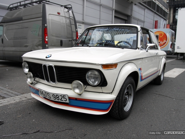 Photos du jour : BMW 2002 Turbo (Rétromobile)