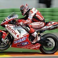 Superbike - Ducati: Haga danse à Valence