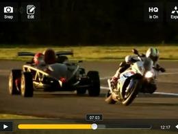 Top Gear : Ariel Atom V8 vs BMW S1000 RR