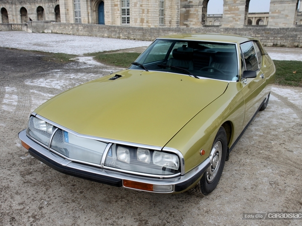 Photos du jour : Citroen SM
