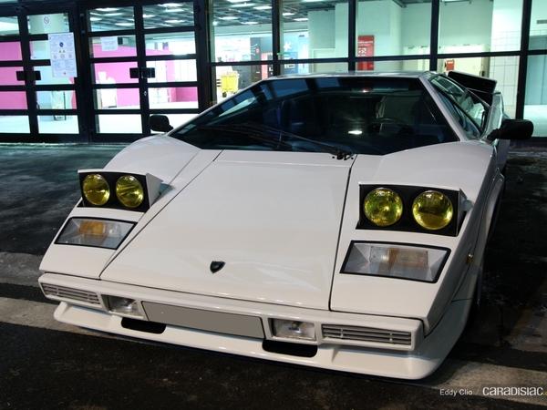 Photos du jour : Lamborghini Countach 5000S (Rétromobile)