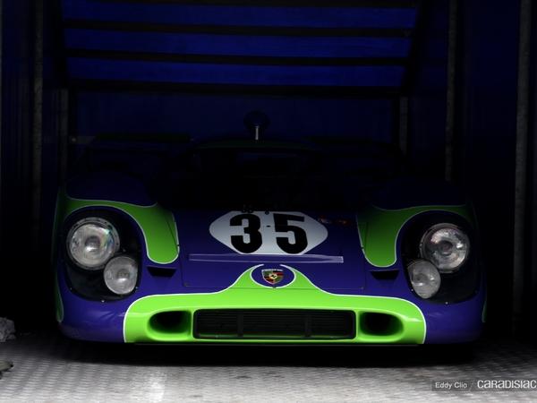 Photos du jour : Porsche 917 (Rétromobile)