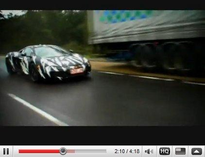 [vidéo] la McLaren MP4-12C testée sur la Top Gear Track (et ailleurs) !