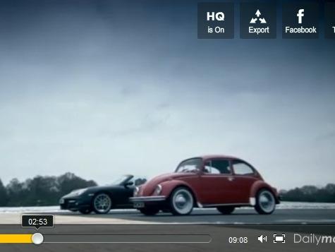 Top Gear : est-ce qu'une 911 est plus rapide qu'une Cox larguée d'un hélicoptère ?
