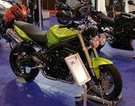 Salon de la moto 2007: Triumph Street Triple