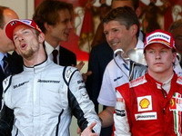 F1: Raikkonen et Button visitent l'usine McLaren !
