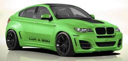 Lumma CLR X650 : le BMW X6 de Shrek !