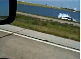 [vidéo] le plongeon de la Bugatti Veyron en live !