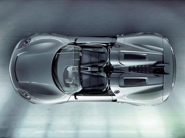 Porsche 918 : la version route sera un spyder, rien qu'un spyder !