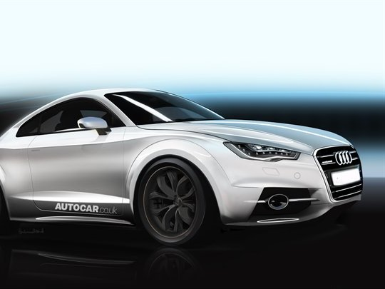 Prochaine Audi TT: comme ça?
