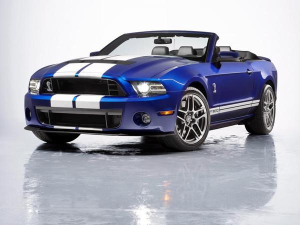 Voici la nouvelle Ford Shelby GT500 Convertible