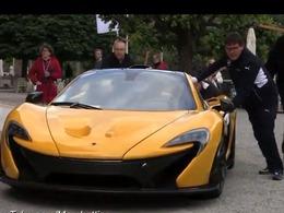 Une McLaren P1 impossible à démarrer à la Villa d'Este
