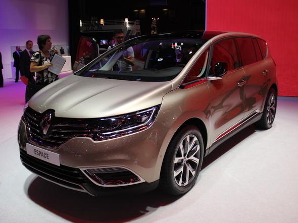 Renault : l'Espace a été retardé pour être peaufiné