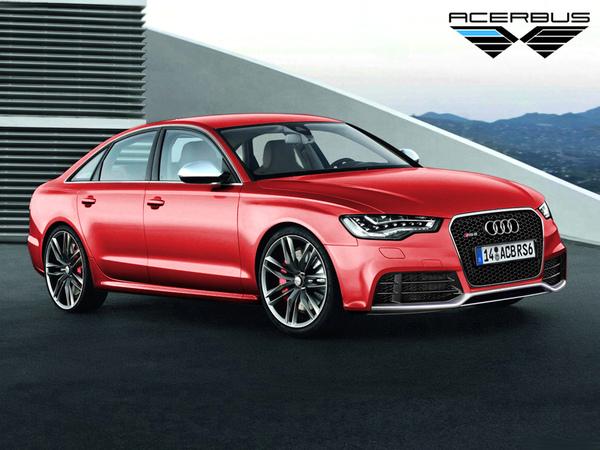 Prochaine Audi RS6 : et comme ça ?