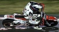 Championnat de France de Supermotard 2015, round 5: Bidart chute et se casse la clavicule