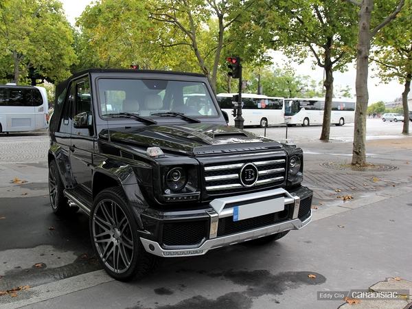 photos du jour brabus classe g500 cabrio. Black Bedroom Furniture Sets. Home Design Ideas