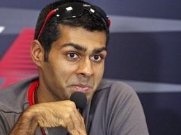 Chandhok en discussion avec Team Lotus