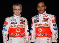 """F1 McLaren : """"Lewis est bon, mais je suis meilleur"""" Heikki Kovalainen"""