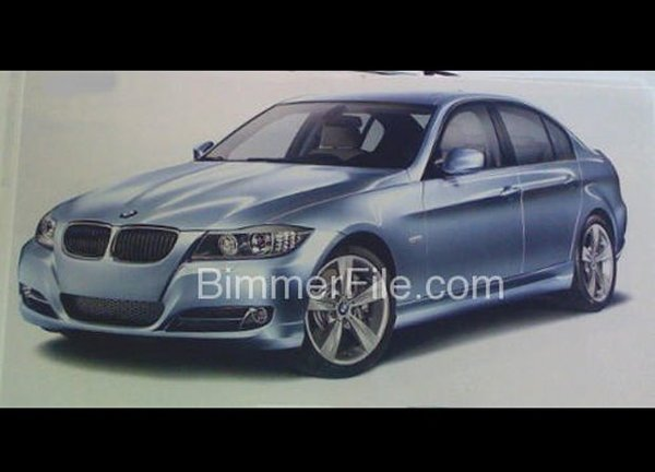 Restyling BMW série 3 : comme ça ?