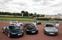 Audi R8 – Mercedes C 63 AMG break – BMW M3 Cabriolet – Porsche Cayenne Turbo – Jaguar XKR :  plus de 2200 ch pour tous les goûts ou presque