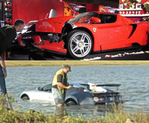 L'étonnante histoire d'Andy House, propriétaire de la Bugatti Veyron dans le lac