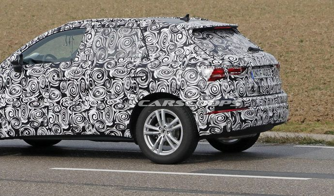 Le futur Audi Q3 sort de l'ombre