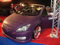 Paris Tuning Show 2007 : Une Peugeot 307 CC full skaï
