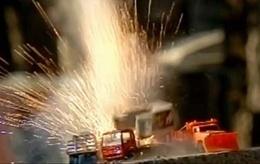 [Vidéo] Passe-temps idiot : des crashs de miniatures en slow motion